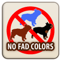 No Fad Colors Logo